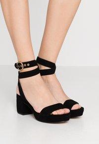 Coach - SERENA - Platform sandals - black - 0