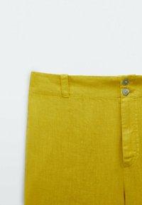 Massimo Dutti - Trousers - yellow - 2