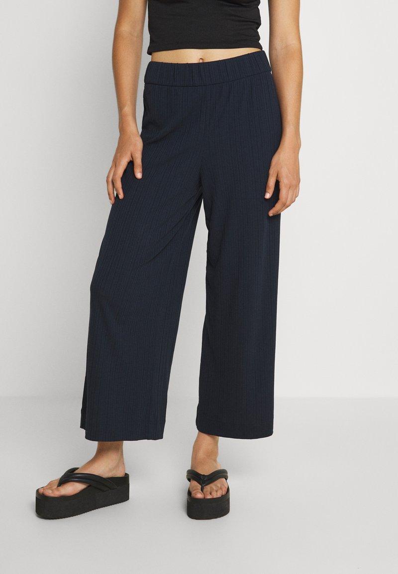 Monki - Trousers - blue dark