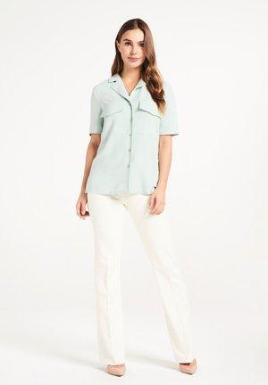 CLAIRE  - Button-down blouse - mint green