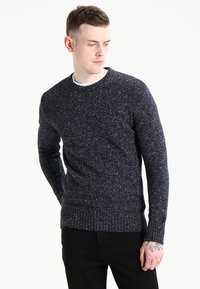 Superdry - SCARFELL CREW - Jumper - mottled anthracite - 0