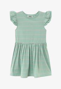Ebbe - NICOLETTE - Žerzejové šaty - mint/bubble pink - 2