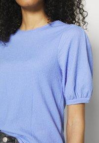 Marks & Spencer London - PUFF SLEEVE  - T-shirts basic - blue - 5