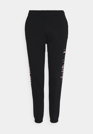 UNISEX MIDNIGHT JOGGER  - Teplákové kalhoty - black