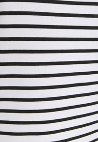Pieces - PCINGRID - Print T-shirt - bright white/black - 2