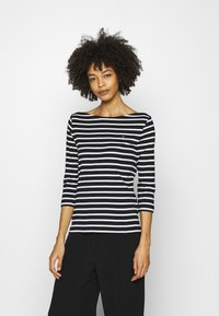 Tommy Hilfiger - AISHA BOAT - Long sleeved top - black - 0