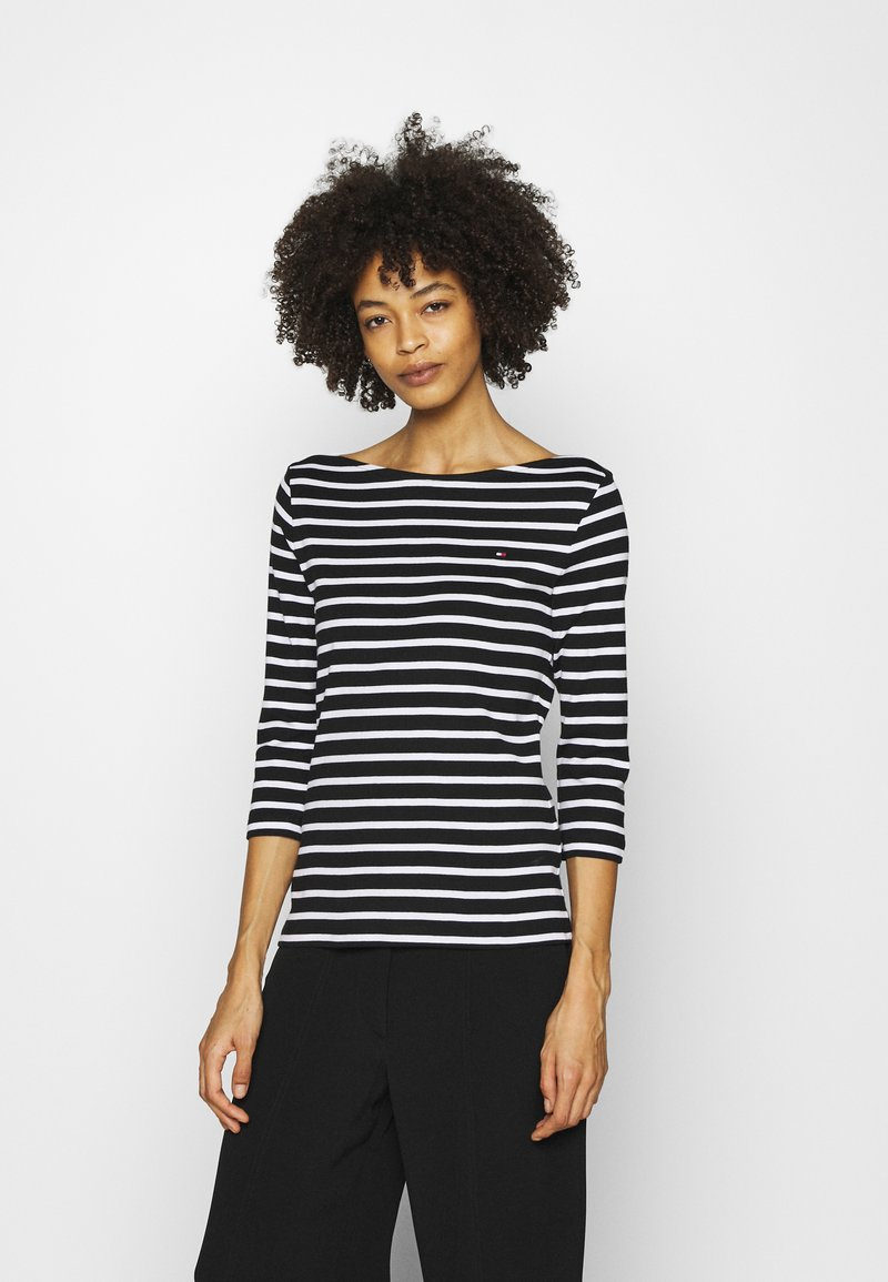 Tommy Hilfiger - AISHA BOAT - Long sleeved top - black