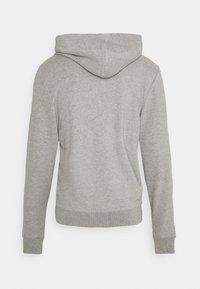 TOM TAILOR - Zip-up hoodie - middle grey melange - 1
