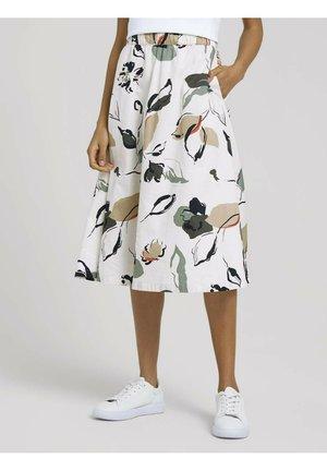 A-line skirt - floral design