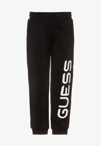 Guess - JUNIOR PANTS UNISEX - Pantalones deportivos - jet black - 0