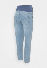 Cotton On - MATERNITY STRETCH MOM OVER BELLY - Straight leg jeans - aireys blue - 1