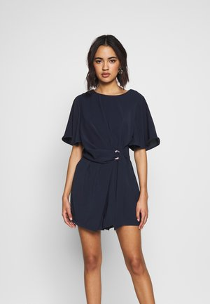 LADIES WOVEN - Jumpsuit - navy blue