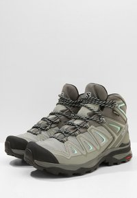 Salomon - X ULTRA 3 MID GTX  - Outdoorschoenen - shadow/castor gray/beach glass - 2