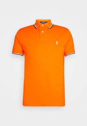 CUSTOM SLIM FIT MESH POLO SHIRT - Polo - sailing orange