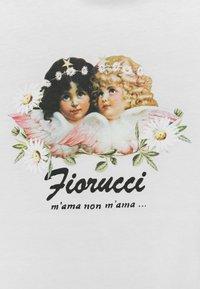 Fiorucci - DAISY ANGELS SUPER CROP TEE - Print T-shirt - white - 2