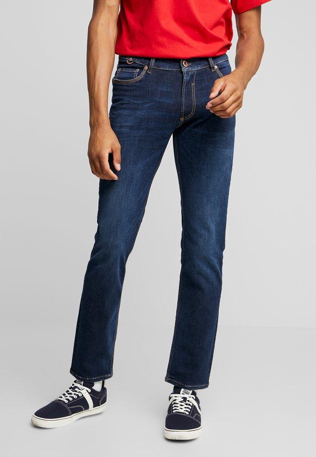 DUKE - Jeans a sigaretta - deep blue