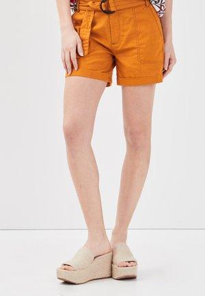 Shorts - jaune moutarde