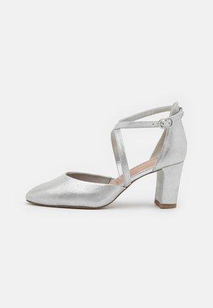 Klassiske pumps - silver