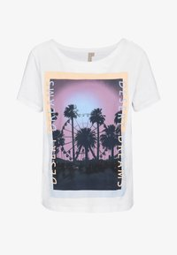 Pieces Petite - PCASALI TEE - T-shirts print - bright white - 3