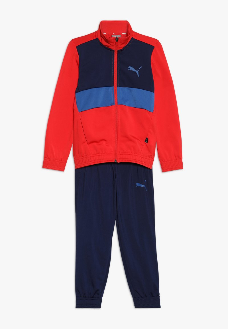 Puma - SUIT - Tracksuit - high risk red