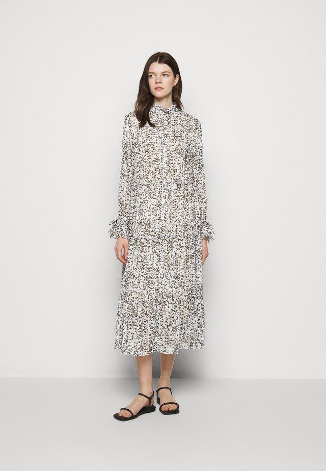 Robe chemise - steel