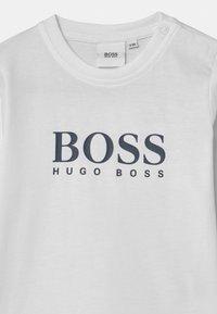BOSS Kidswear - Long sleeved top - white - 2