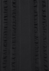 Victoria Beckham - FRILL DETAIL BLOUSE - Button-down blouse - black - 7