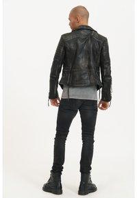 Trueprodigy - BRYAN - Leather jacket - black - 2
