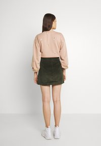 ONLY - ONLAMAZING LIFE SKIRT - A-line skirt - forest night - 3