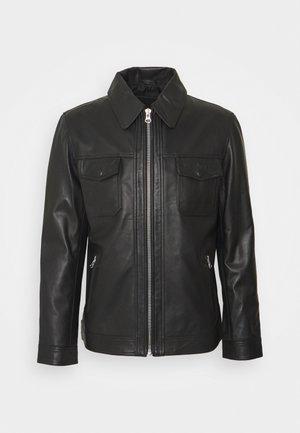 ARY  - Leather jacket - black