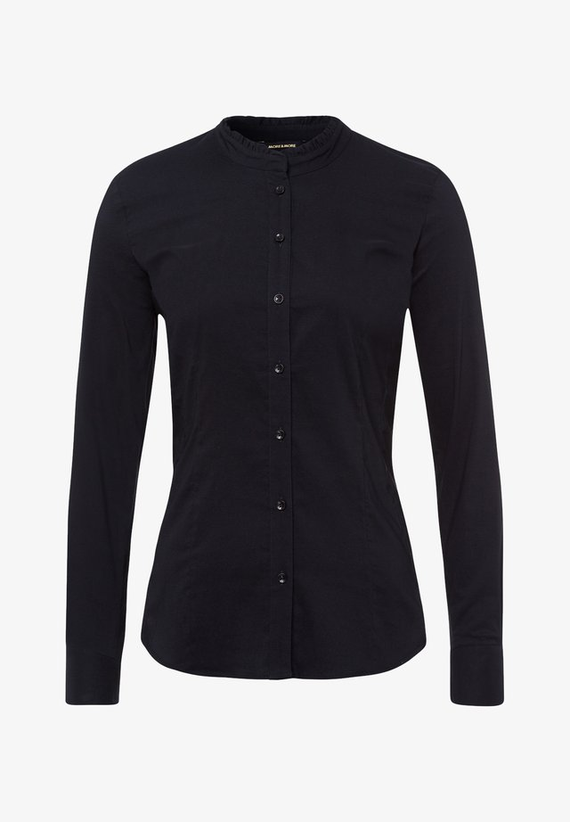 Button-down blouse - schwarz