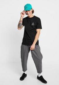 HUF - CITY ROSE TEE - Print T-shirt - black - 1
