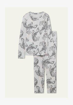 SET - Pyjamas - grigio mel.chiaro st.tigre
