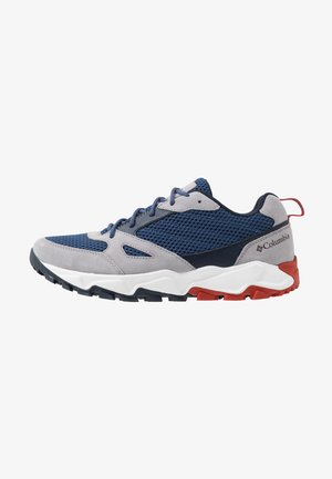 IVO TRAIL BREEZE - Hiking shoes - carbon/rust red