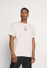 The Couture Club - RELAXED FIT T-SHIRT WITH WAVE BACK PRINT - Print T-shirt - whisper white - 0