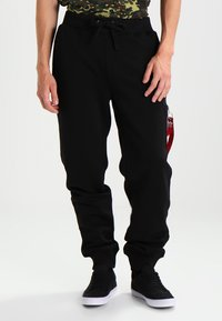 Alpha Industries - FIT PANT - Träningsbyxor - black - 0