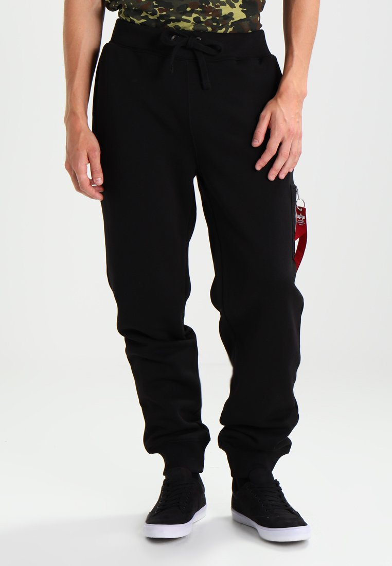 Alpha Industries - FIT PANT - Träningsbyxor - black