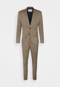 Selected Homme - SLHSKINNY MYLOLOGAN SUIT - Kostym - camel - 8