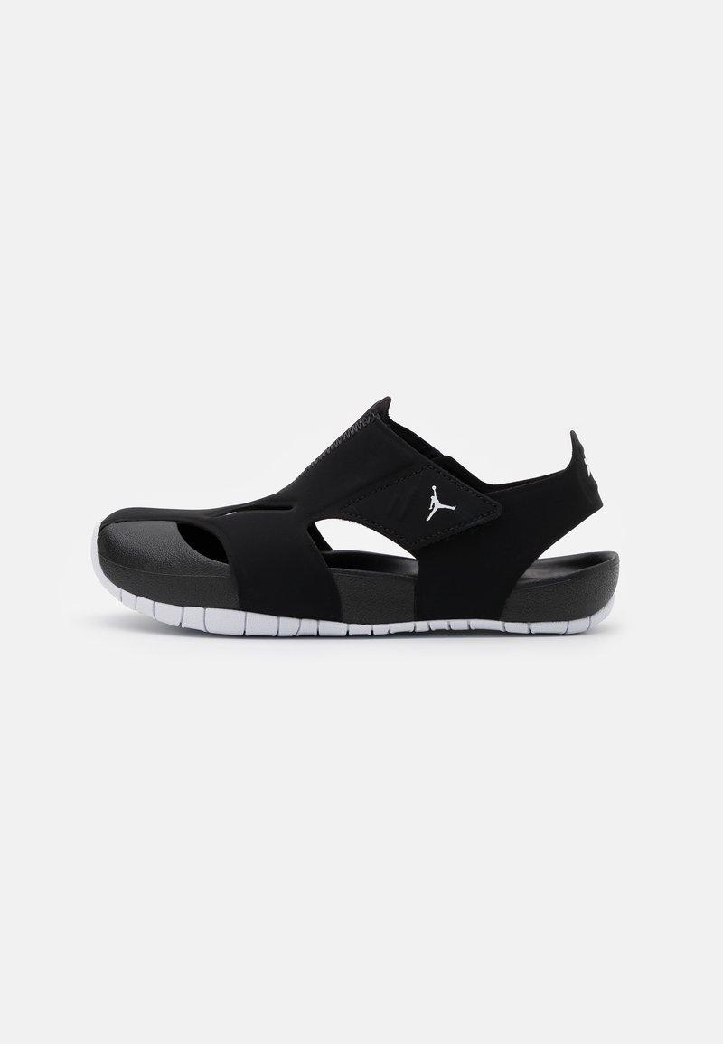Jordan - FLARE UNISEX - Chanclas de baño - black/white