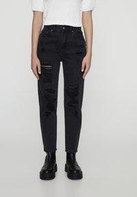 PULL&BEAR - Slim fit jeans - black denim - 0