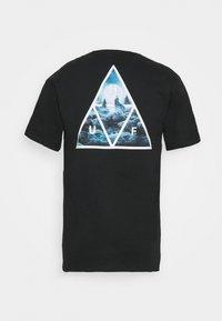 HUF - LUPUS NOCTEM TEE - Print T-shirt - black - 1