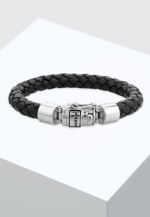 CHUNKY BRAIDED - Armband - silver-coloured