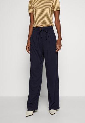 YASKIRRI PANTS  - Trousers - evening blue