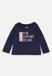 Levi's® - L/S GRAPHIC TEE - Long sleeved top - medieval blue - 0