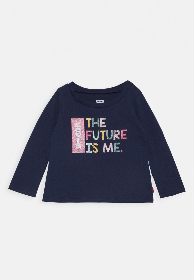 Levi's® - L/S GRAPHIC TEE - Long sleeved top - medieval blue