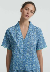 OYSHO - Button-down blouse - blue - 2