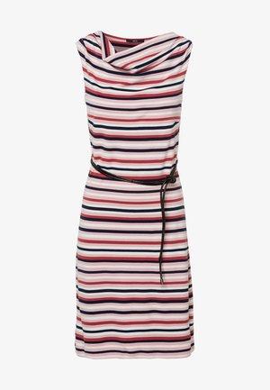 Jersey dress - peach sorbet
