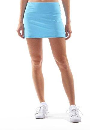 BASIC SKIRT - Sports skirt - hellblau