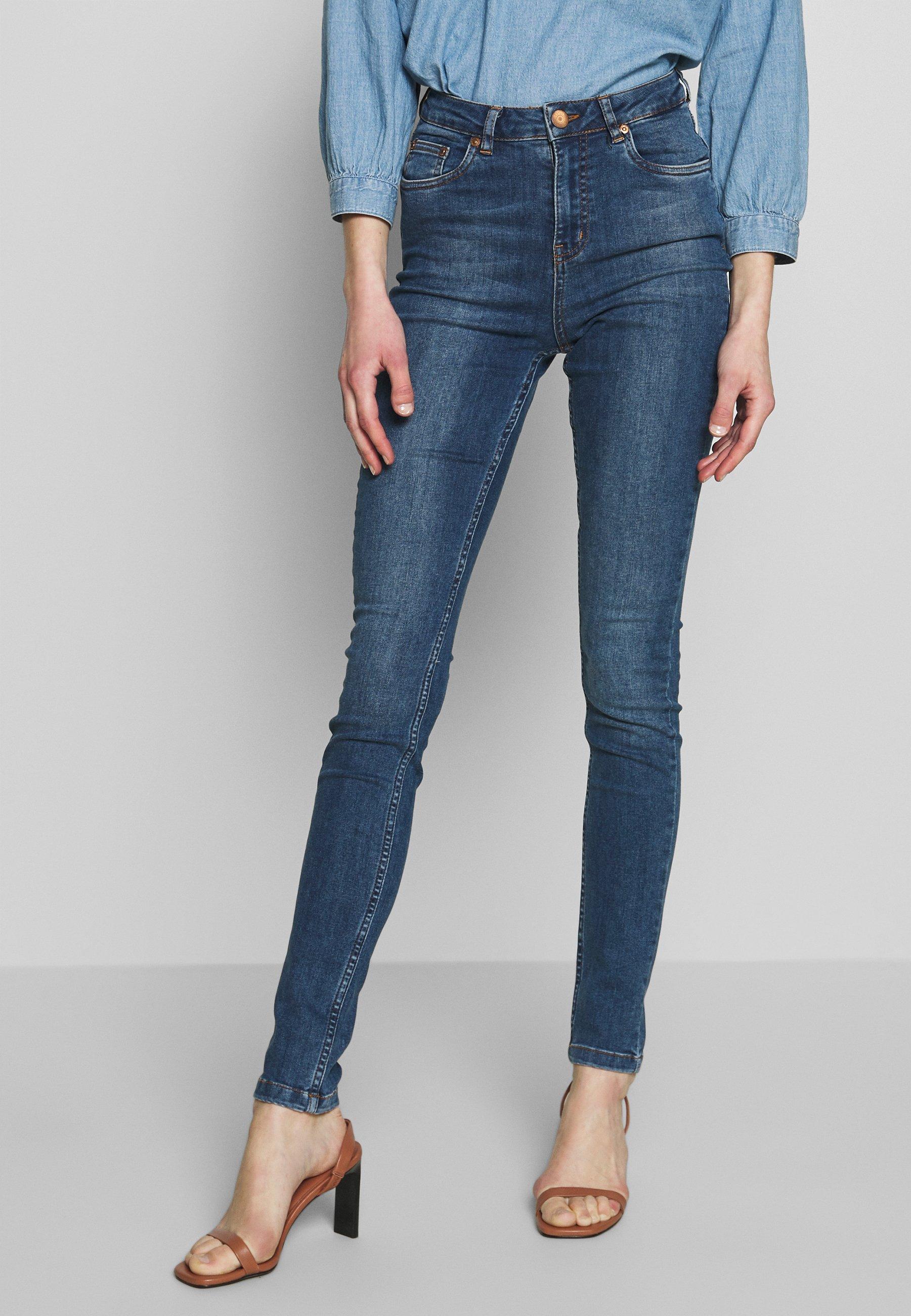 Women Jeans Skinny Fit - blue