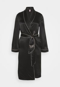 CLASSIC DRESSING GOWN - Accappatoio - black